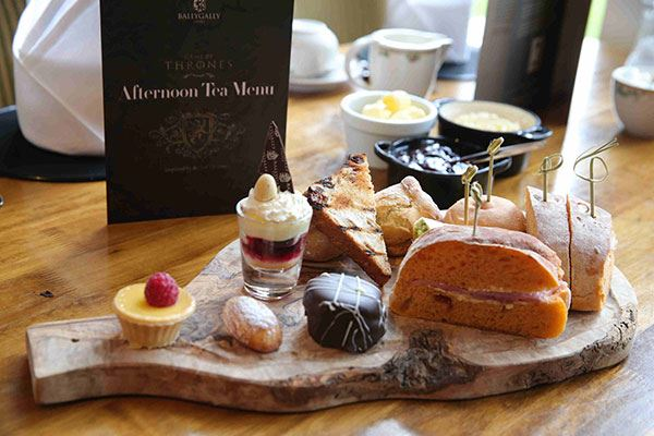 Have afternoon tea at the fabulous Ballygally Castle Hotel