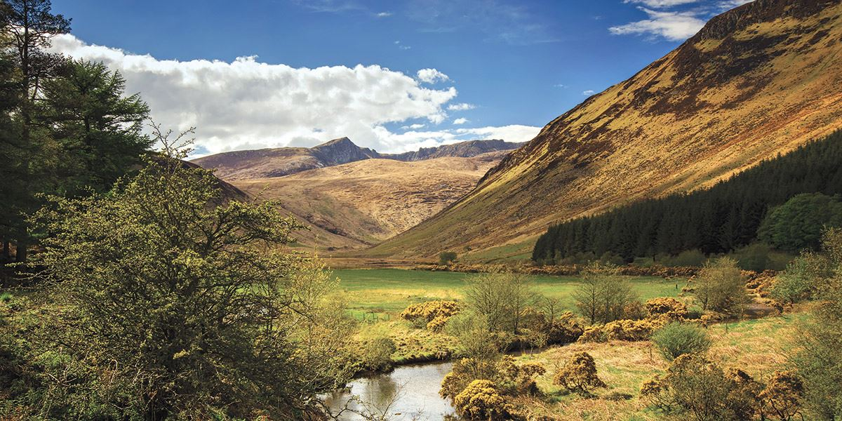 Glen Rosa Valley-Arran