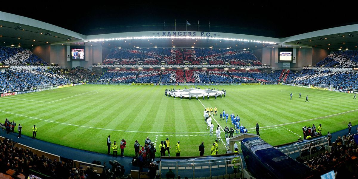 Ibrox Stadium Football stadiums UK