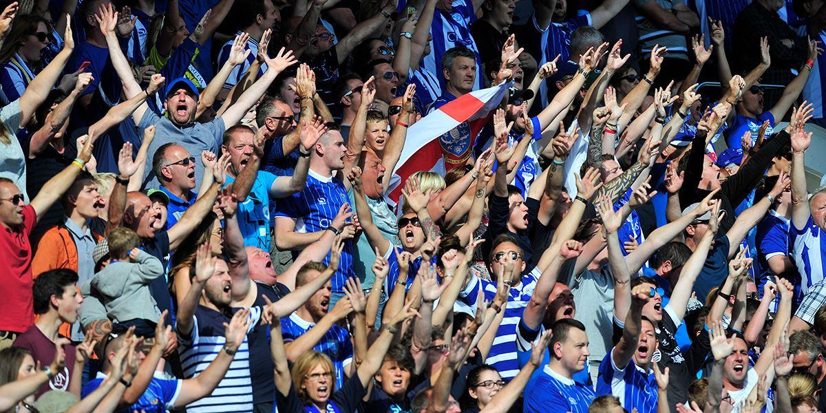Sheffield Wednesday fans at Hillsborough