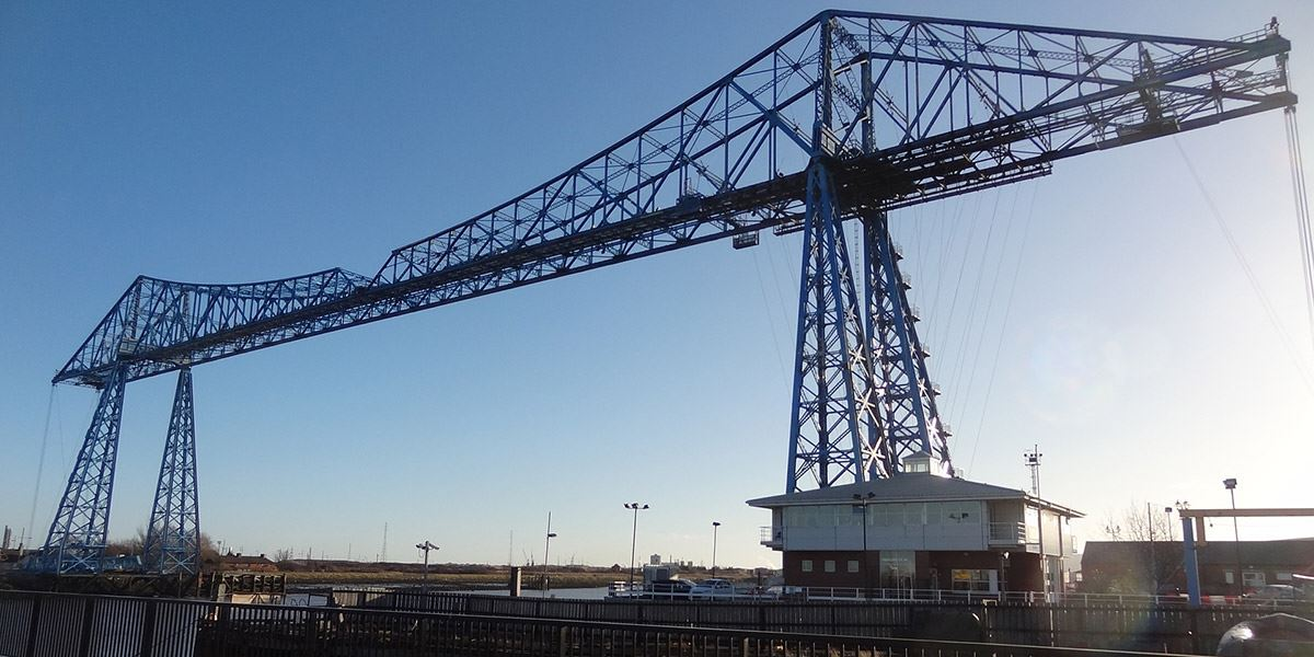 Transporter Bridge, Middlesborough British film locations