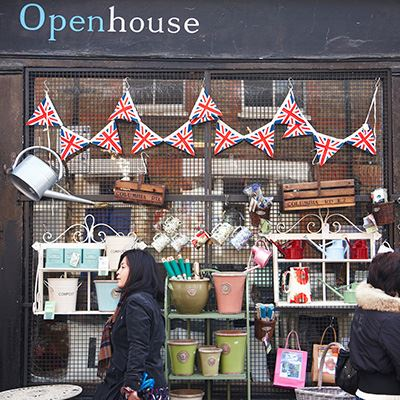 Openhouse shop at Columbia Road Flower Market