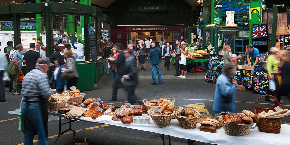 Borough Market is London's best-known food market