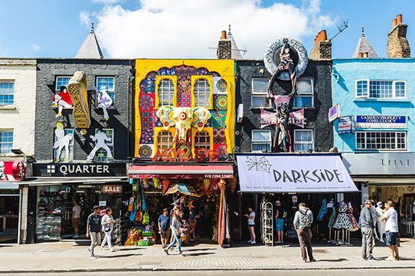 The colourful Camden Market