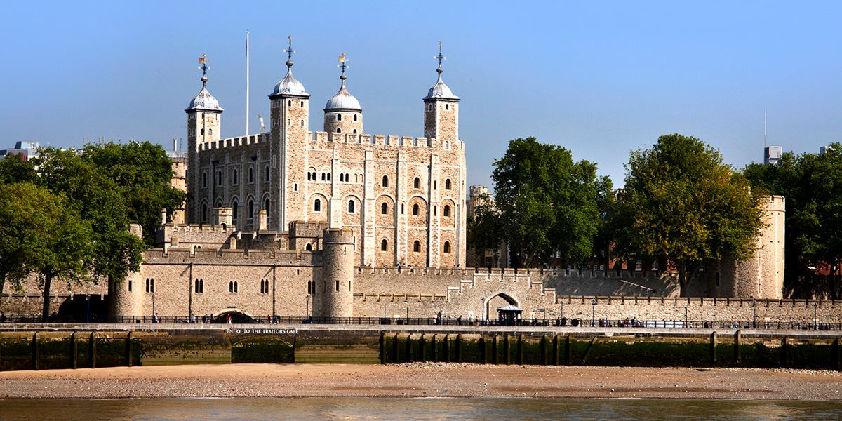 The Tower of London is now home to the Crown Jewels