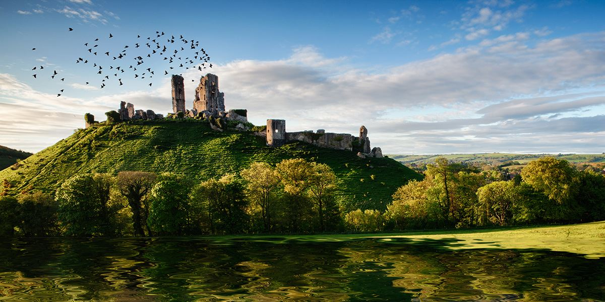 Corfe Castle is one of Britain's most iconic and evocative survivors of the English Civil War