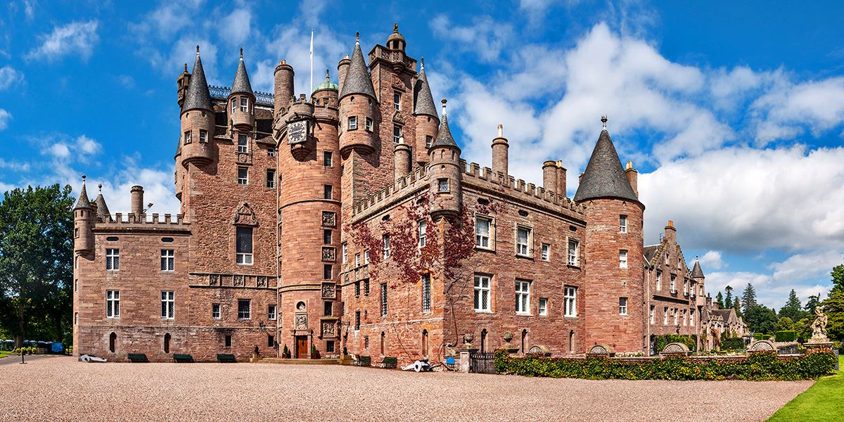 Glamis Castle was inspiration for Shakespeare's Macbeth