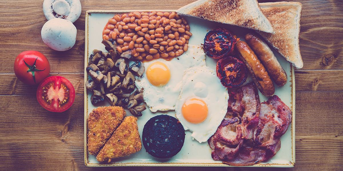 There's nothing like a full-cooked breakfast to start off the day