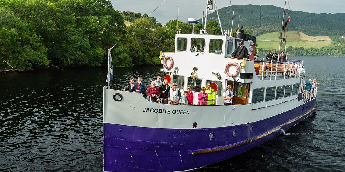 Jacobite Cruises 48 hours in Inverness and Loch Ness