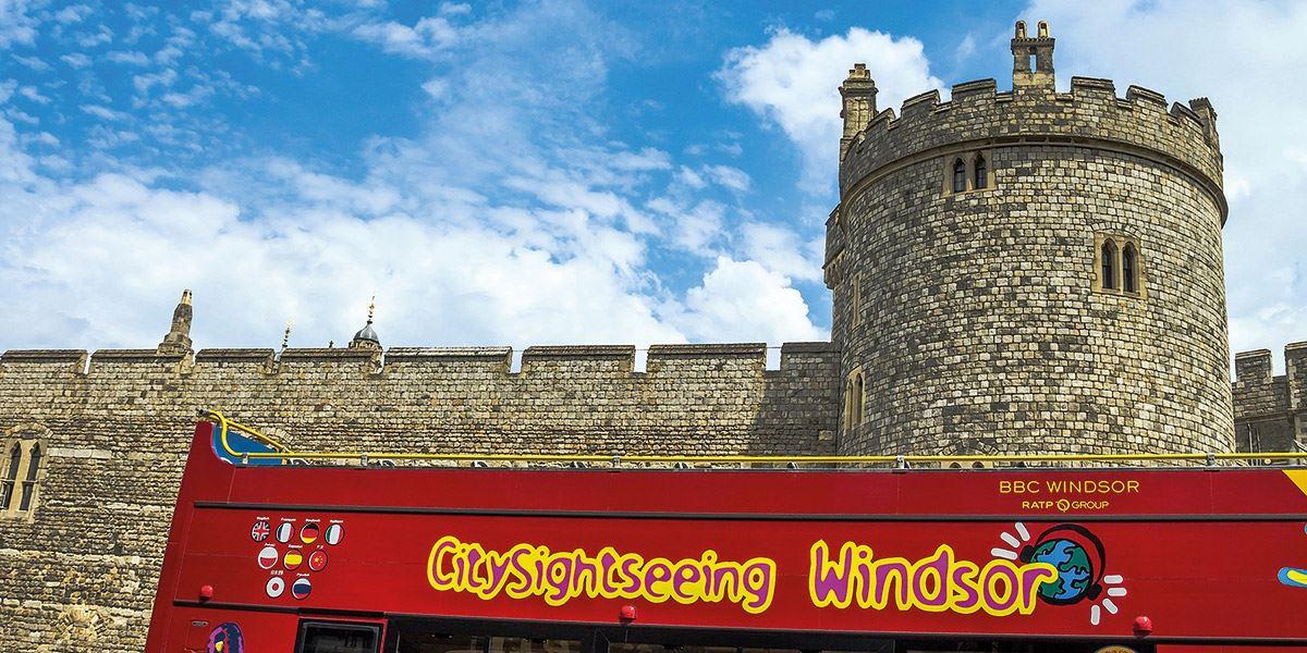 Windsor open top bus 48 hours in Berkshire