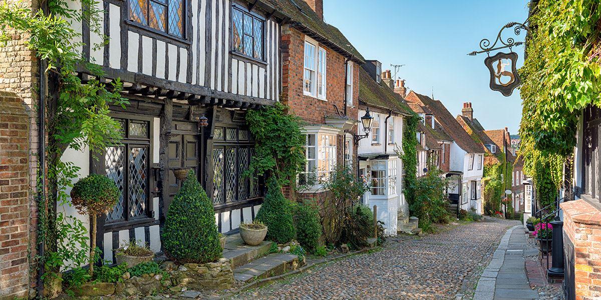 Tudor houses in Rye