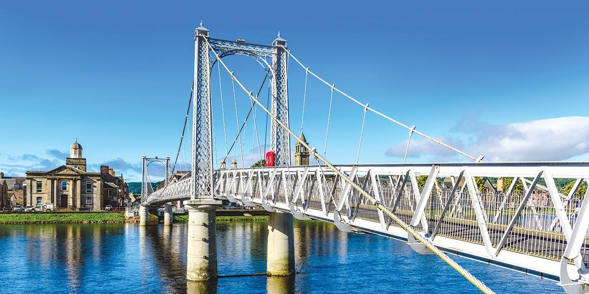 Inverness Suspension Bridge Inverness and Loch Ness travel