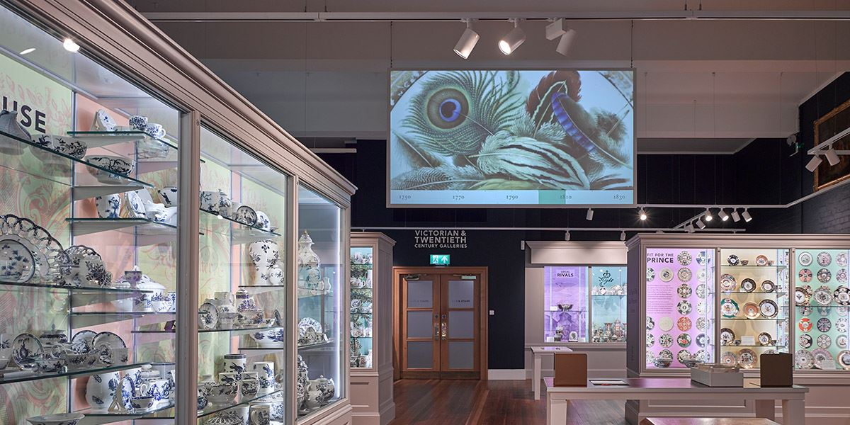 Museum of Royal Worcester interior