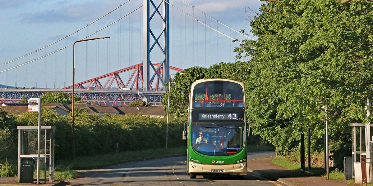 Catch a Lothain Bus to get around the city