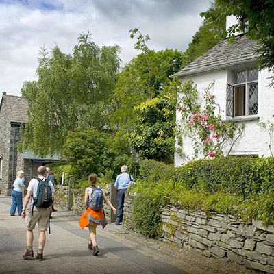 Dove Cottage is located in Grasmere