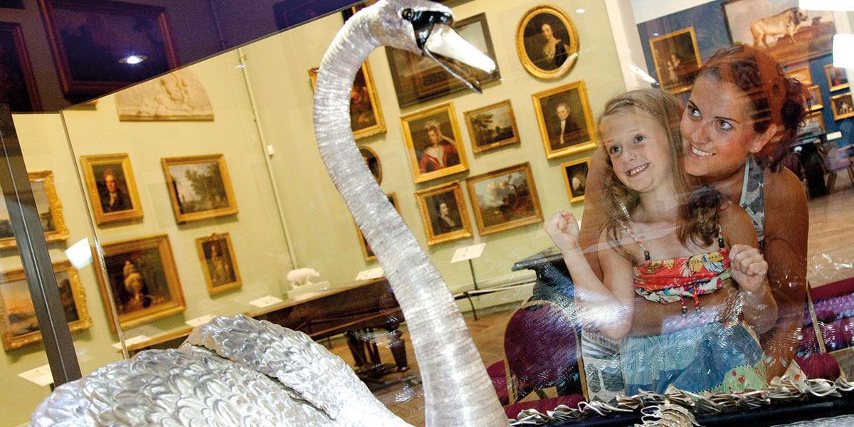 Visit The Bowes Museum and see the Silver Swan in action