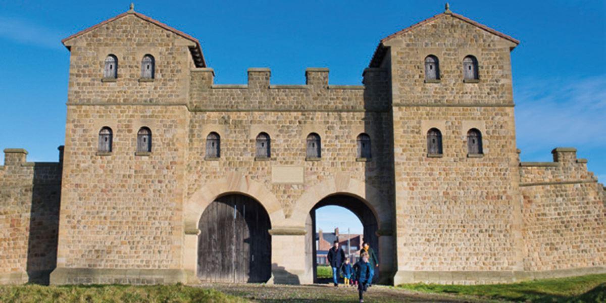 Arbeit Roman Fort