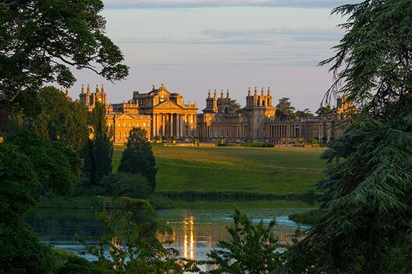 Some scenes from Downton Abbey were filmed at Blenheim Palace