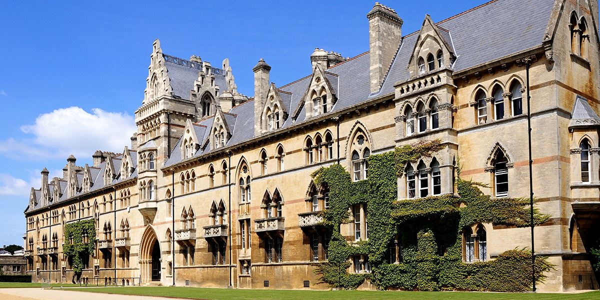 In 1850, author Lewis Carroll matriculated from Christ Church College