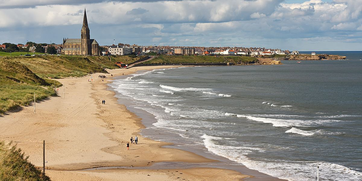 Visit Longsands Beach, Tynemouth