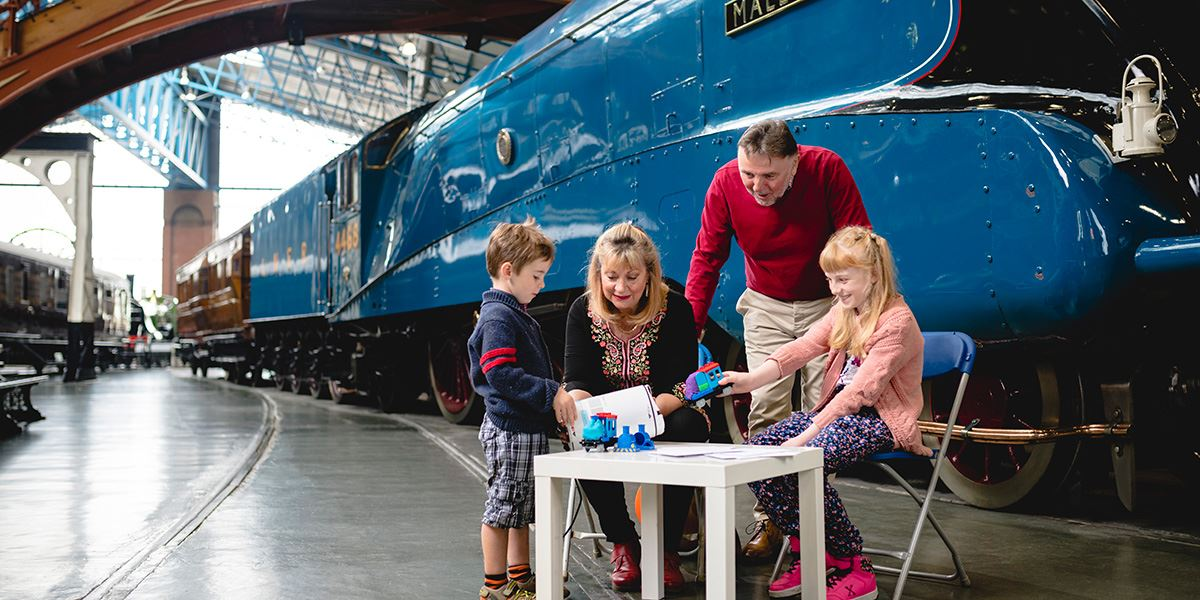 Family fun at the National Railway Museum