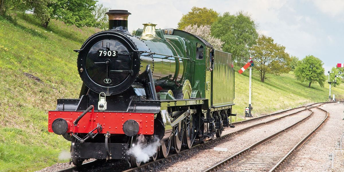 Take a ride on the Gloucestershire Warwickshire Steam Railway