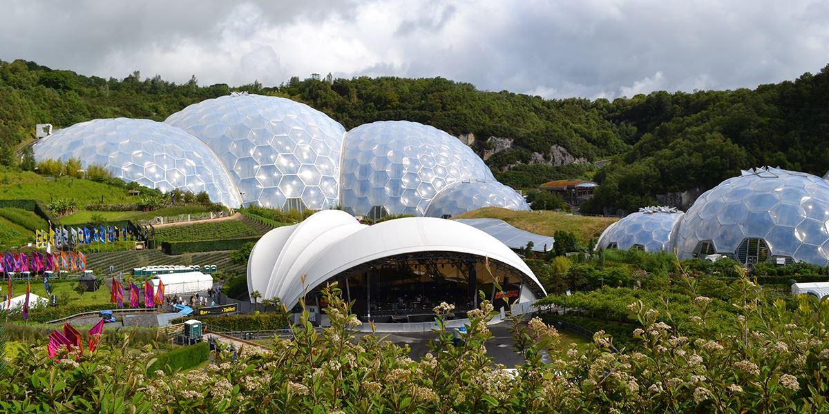 Eden Project Biodomes