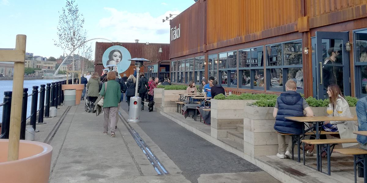 By the River Brew Co Newcastle Gateshead container village