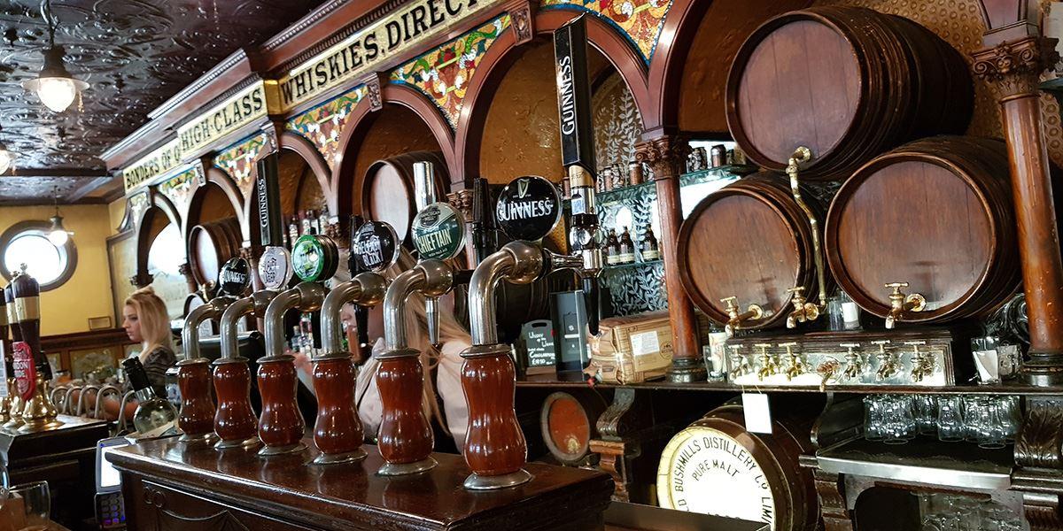 Historic Crown Bar, Belfast