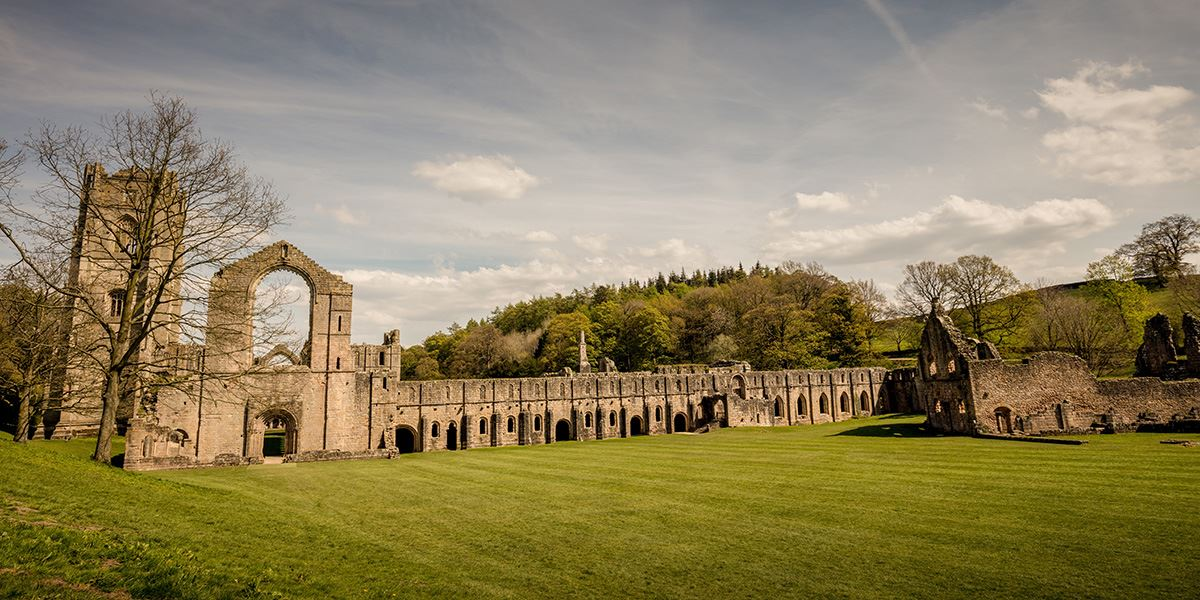 Fountains Abbey in Ripon
