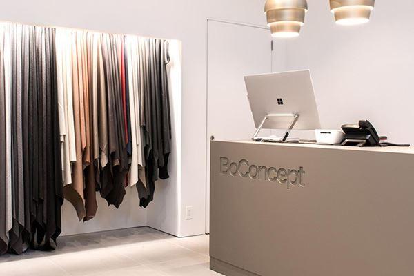 BoConcept furniture shop in Manchester
