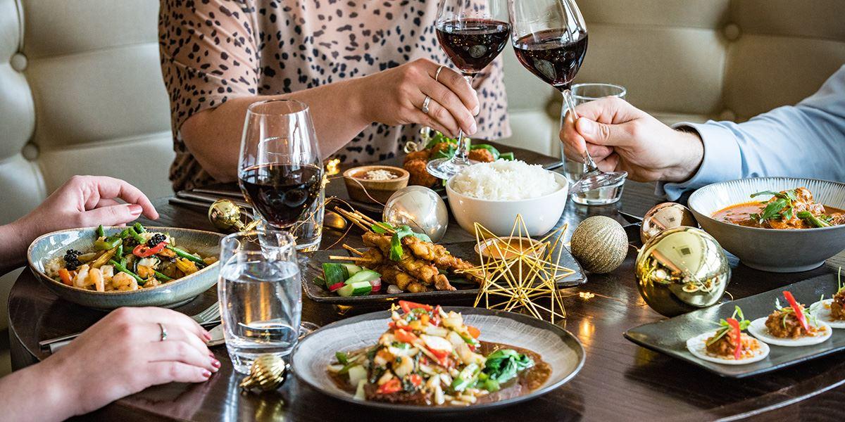 Chaophraya Thai restaurant in Edinburgh