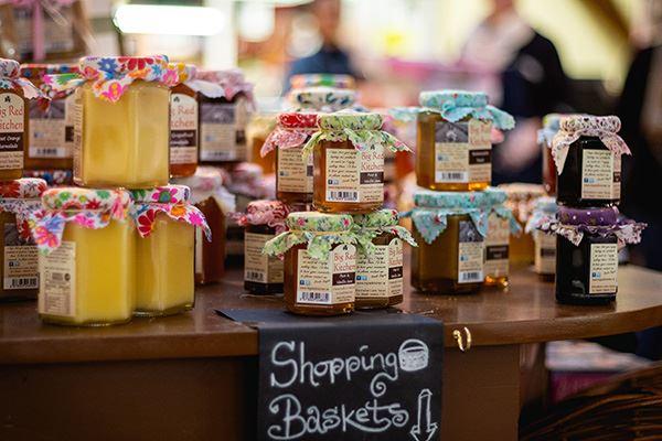 Fresh jams at Cork English Market