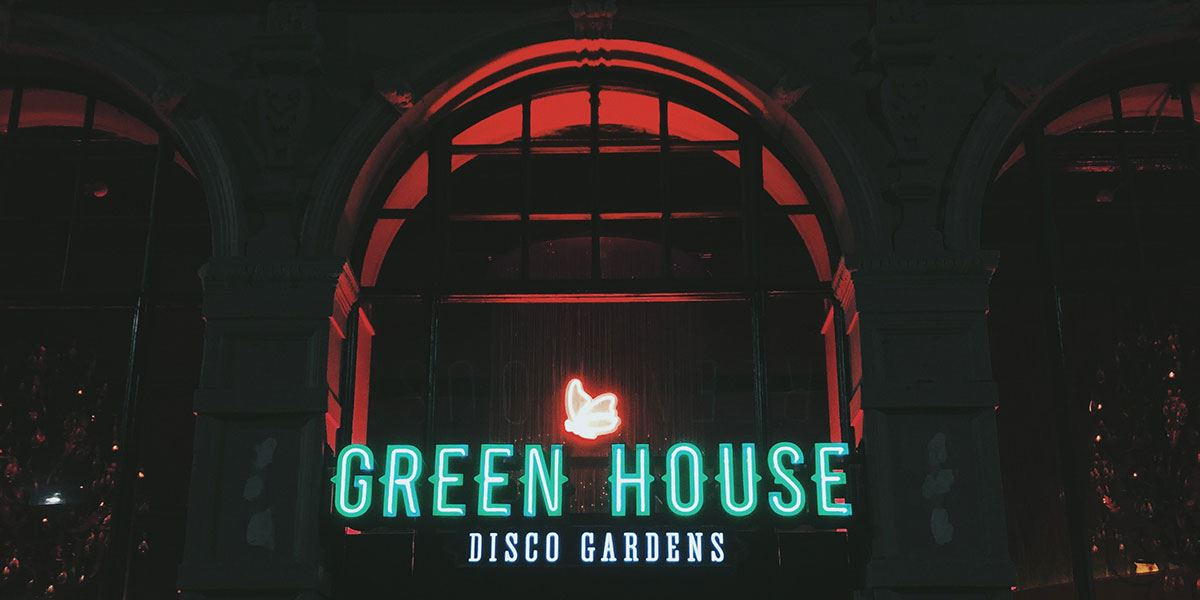 Green House Disco Gardens Newcastle