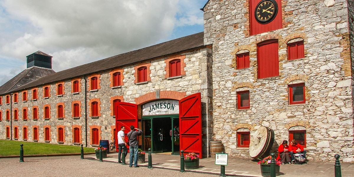 Jameson Distillery in County Cork