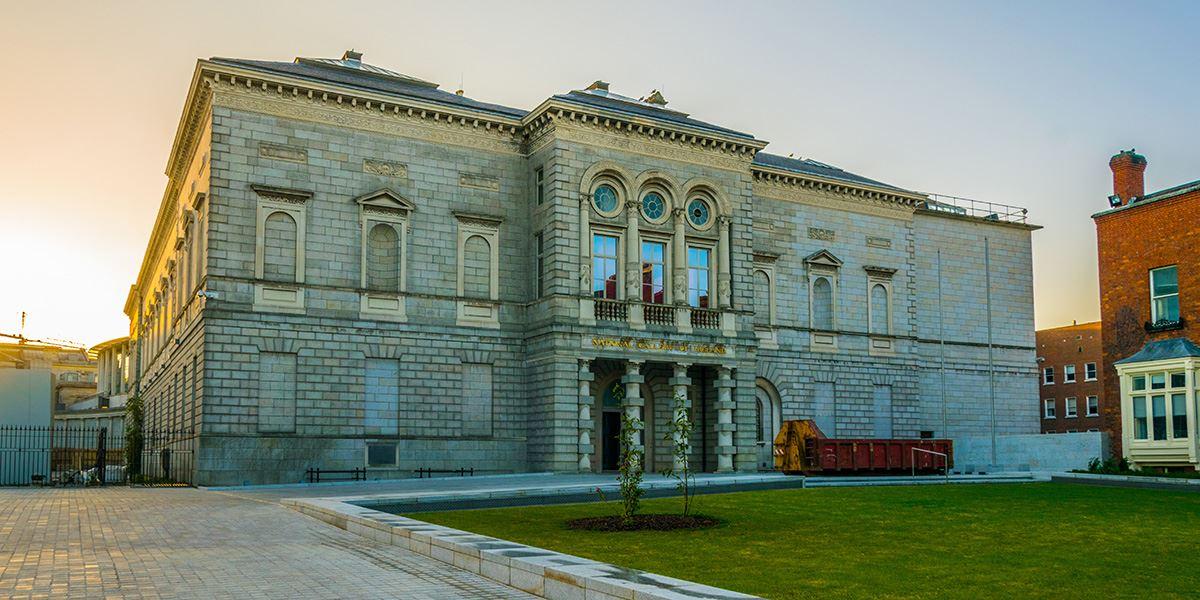 National Gallery of Ireland art gallery in Dublin