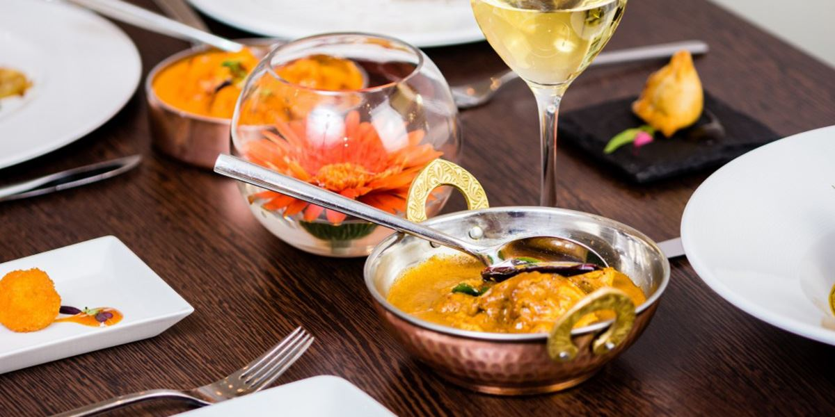 Navadhanya Indian restaurant in Edinburgh