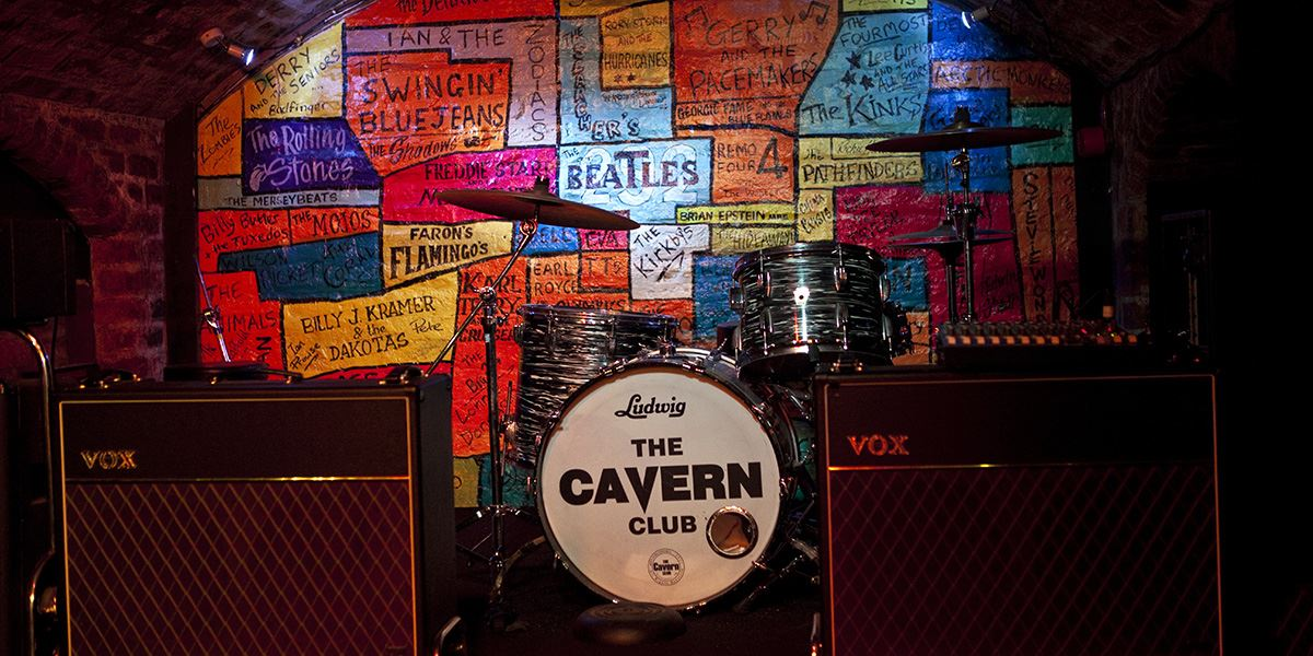 Stage at The Cavern Club Liverpool
