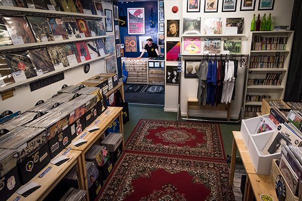 Vanishing Point Records music shop Chesterfield