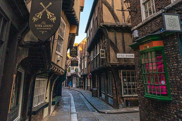 The York Ghost Merchants shop on the Shambles in York