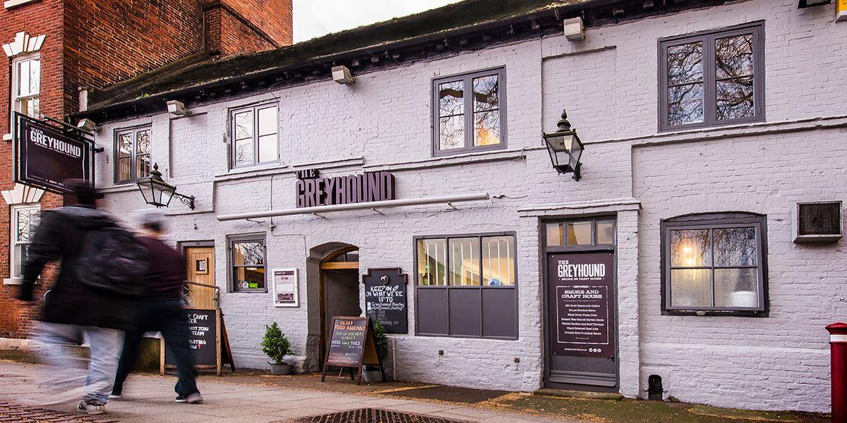 The Greyhound pub in Derby