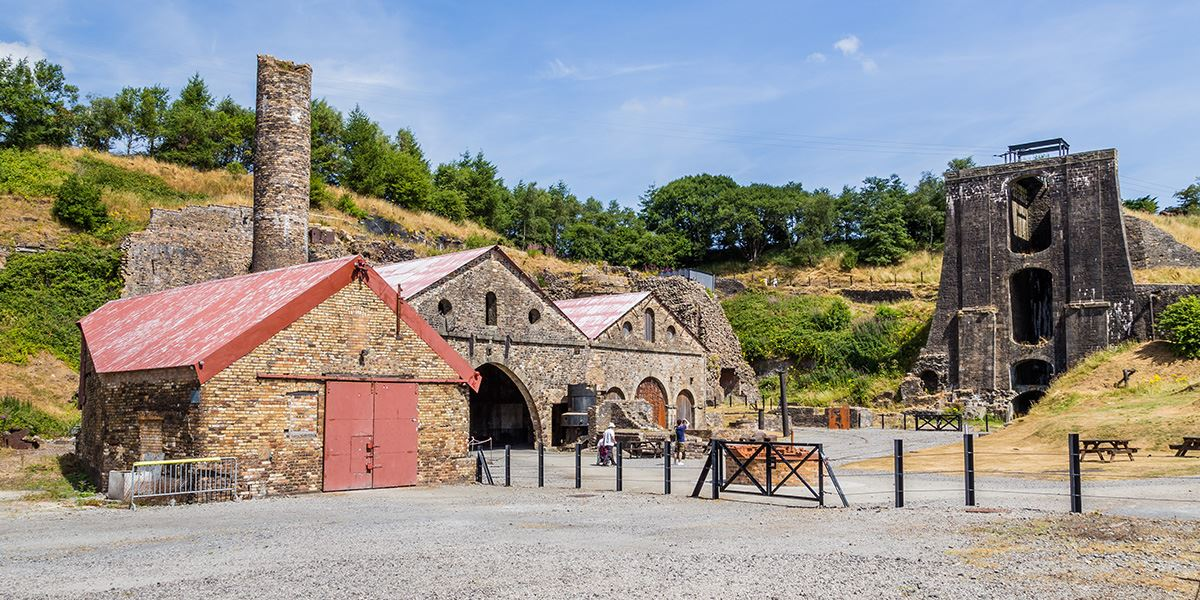Blaenavon Ironworks near Cardiff
