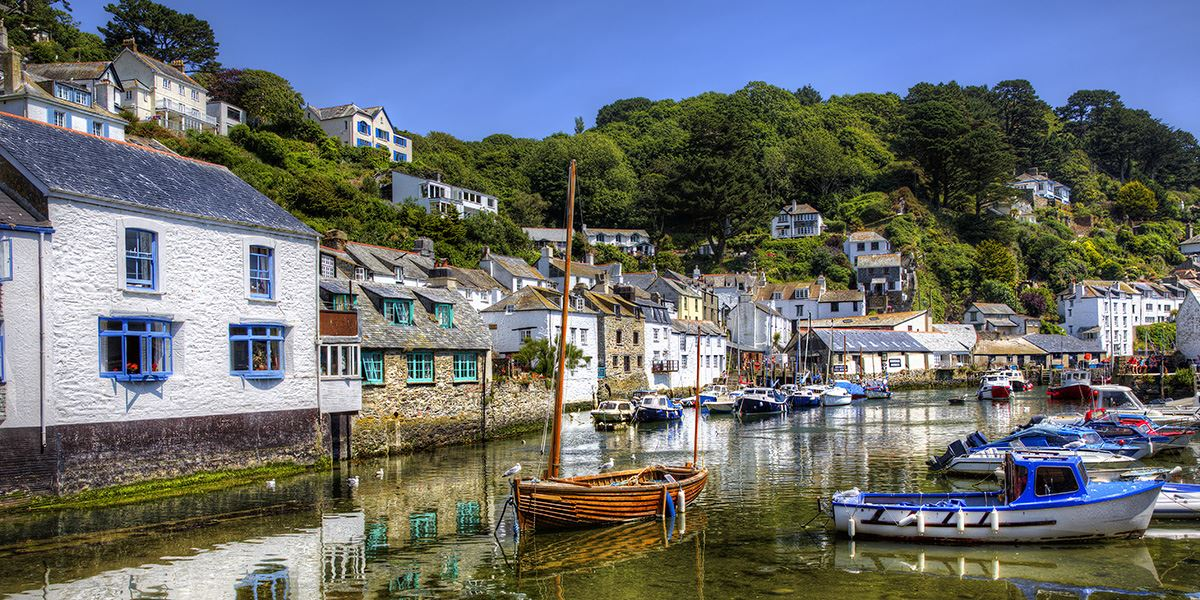 The fishing village of Polperro has a beautifully quaint harbour