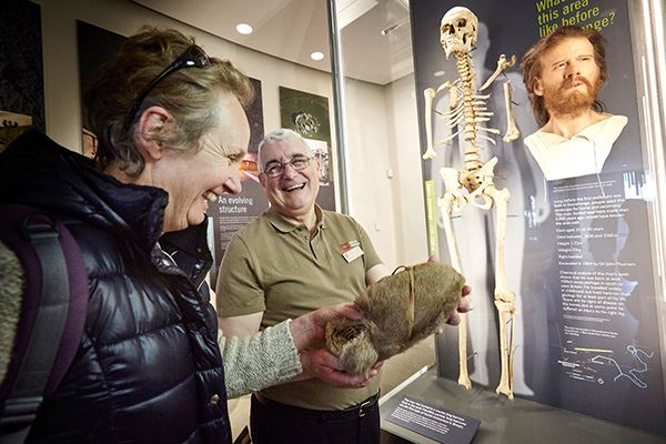 See archaeological objects and treasures on display at the Stonehenge Visitor Centre in Wiltshire