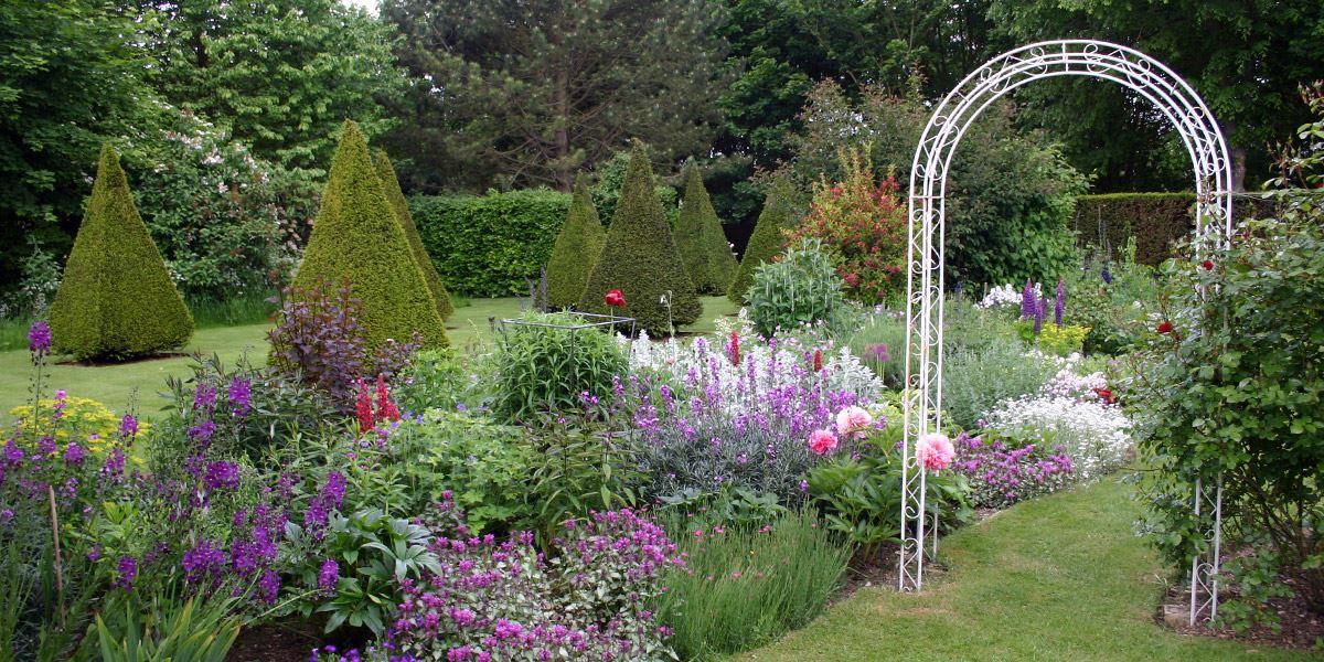 Gotha Garden at Pembroke Farm Gardens, Hertfordshire