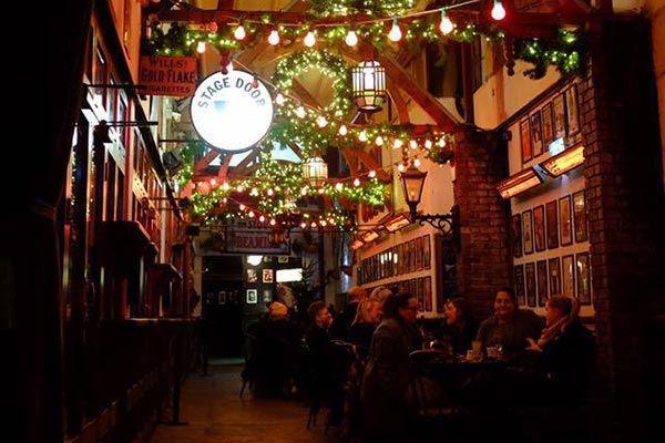 Beer garden at Crane Lane Theatre in Cork