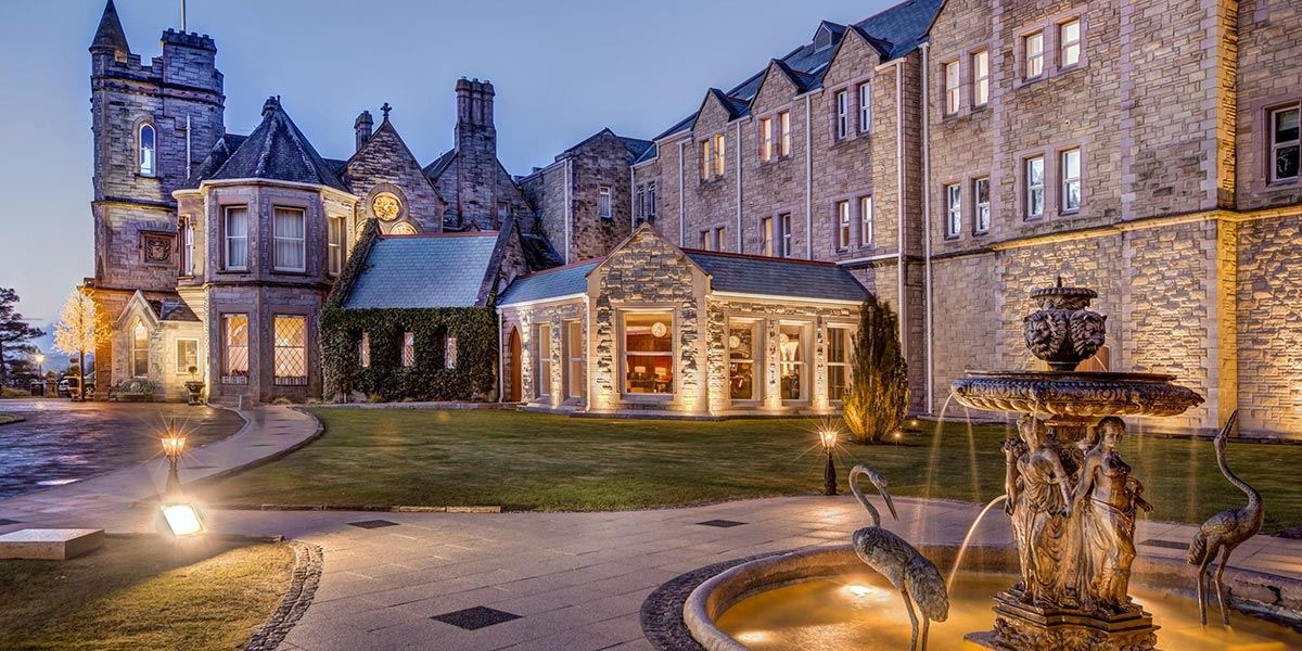 Culloden Estate and Spa stands magnificently in the Holywood Hills near Belfast