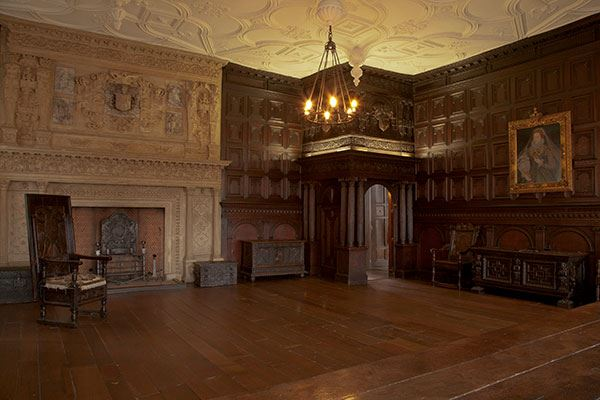 The Great Oak Room at The Red Lodge Museum, Bristol