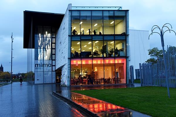 Middlesbrough Institute of Modern Art gallery exterior, Middlesbrough