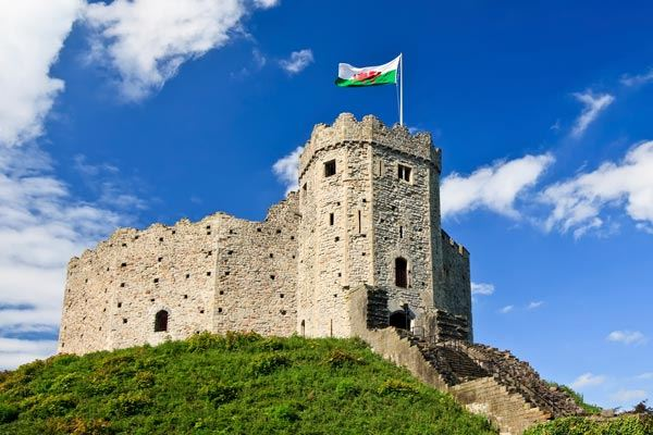 Cardiff Castle Exterior